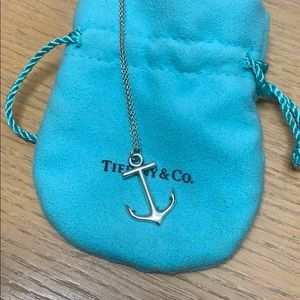 Tiffany & Co. Anchor Necklace - Sterling Silver